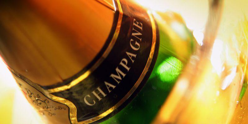 Flessen Champagne © Phovoir