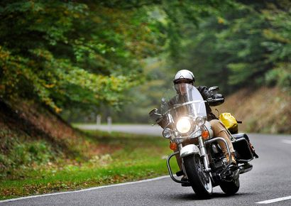 Een motortocht maken